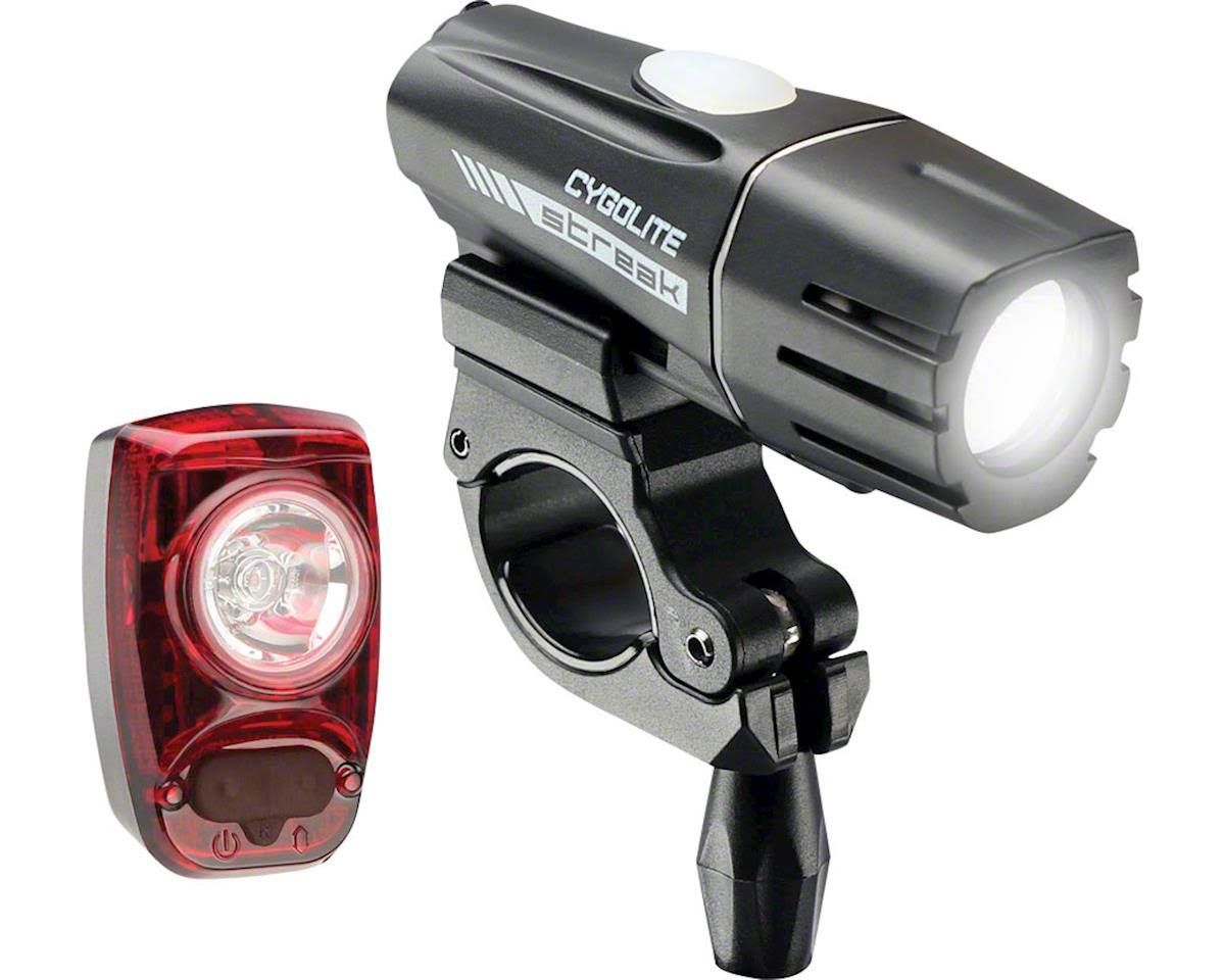 Cygolite Streak 450 Bicycle Headlight and Hotshot SL 50 Taillight Set