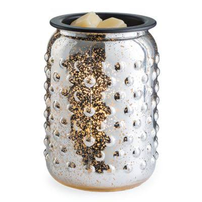 Candle Warmers Glass Illumination Fragrance Warmer