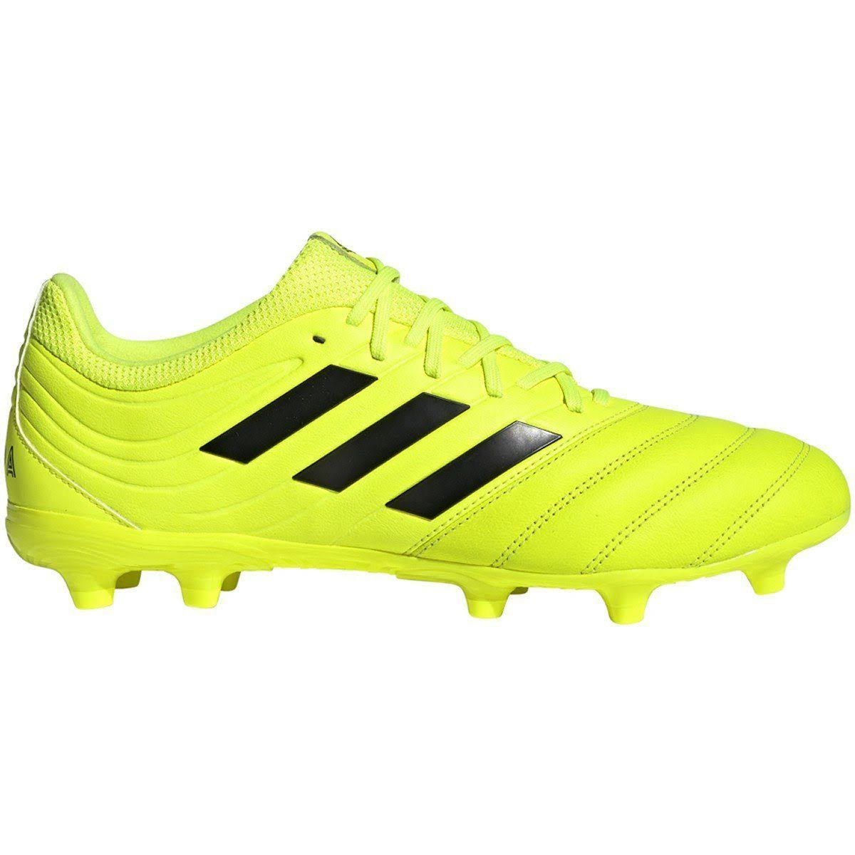 Adidas Copa 19.3 Firm Ground Cleats Men's, Size: 9.5, Yellow