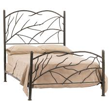 Wayfair Cal King Headboard by Bedrooms Chic Wrought Iron Headboard For Cool Bedroom Decoration