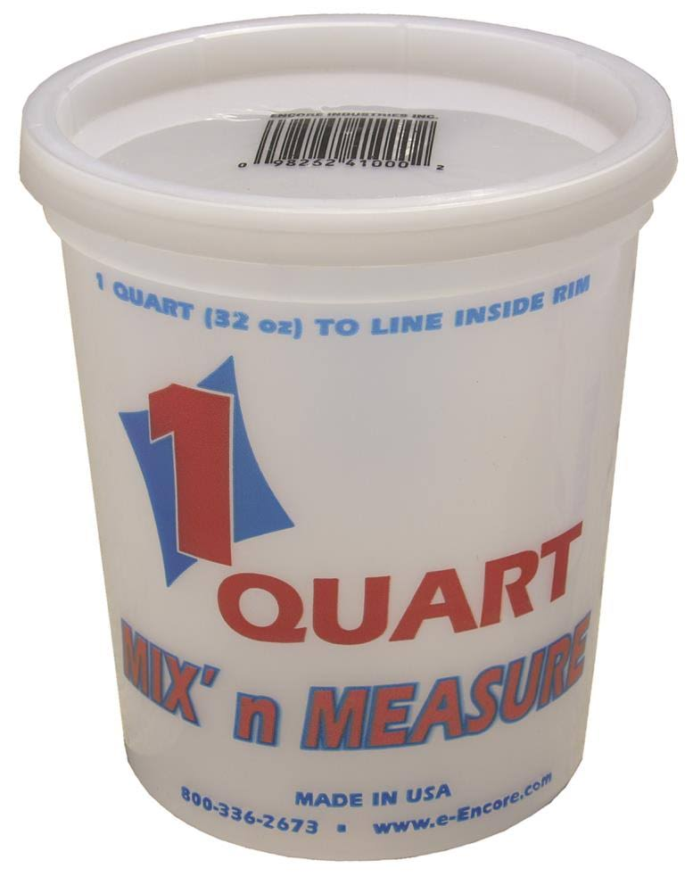 Encore Plastics Mix N Measure Container