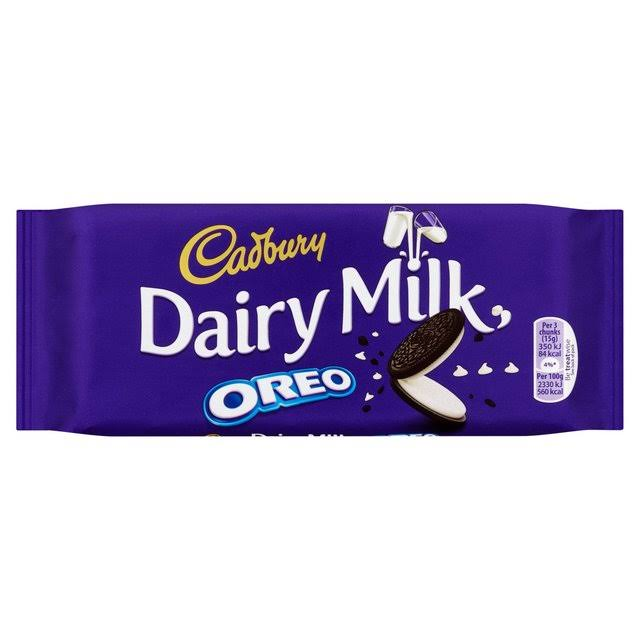 Cadbury Dairy Milk With Oreo Chocolate Bar