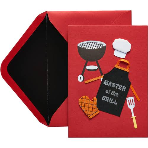 Papyrus Fathers Day Cards for Dads Master of The Grill