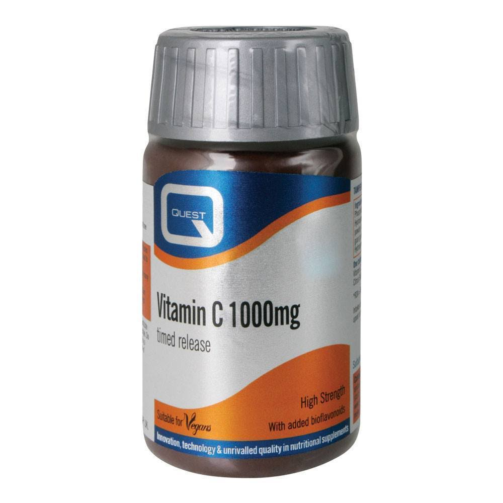 Quest Vitamin C 1000mg Timed Release 30 Tablets