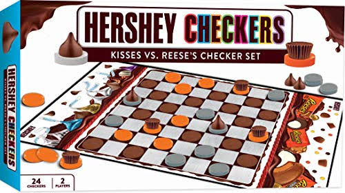 Hershey's Checkers Board Game - 24 Checkers