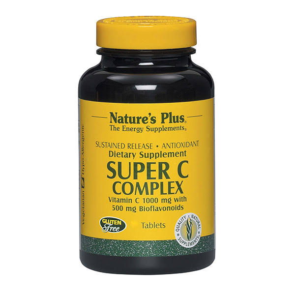 Nature's Plus Super C Complex Dietary Supplement - 90ct, 500mg