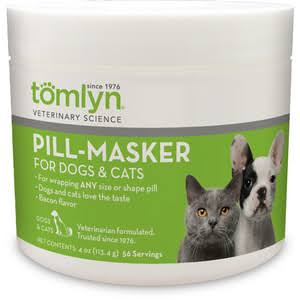 Tomlyn Pill Masker Dog and Cat Supplement - 4oz, Bacon Flavor