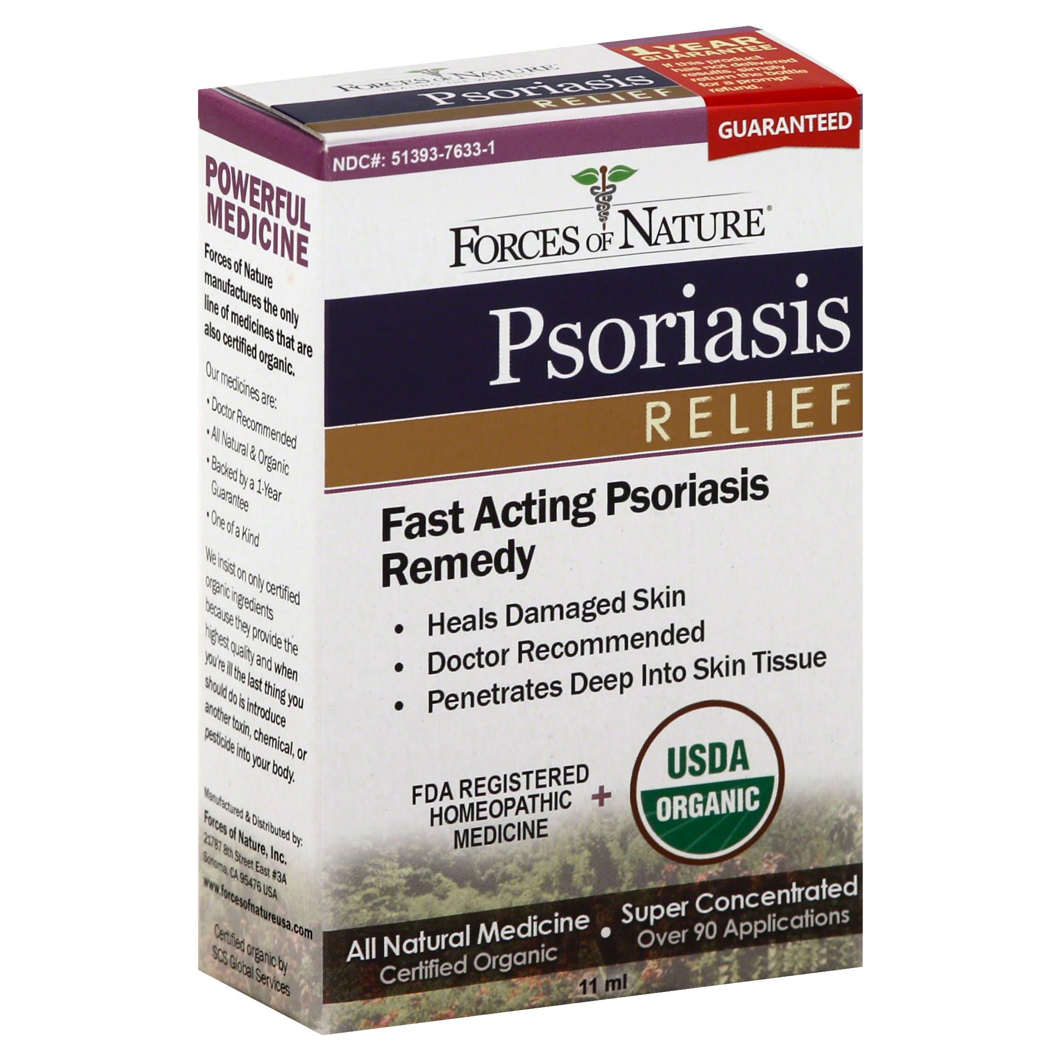 Forces of Nature Psoriasis Control - 11ml