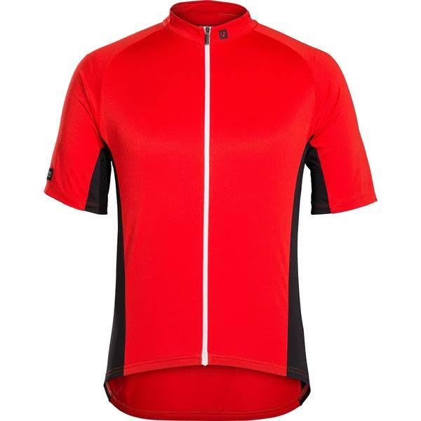 Bontrager Solstice Mens Cycling Jersey Red