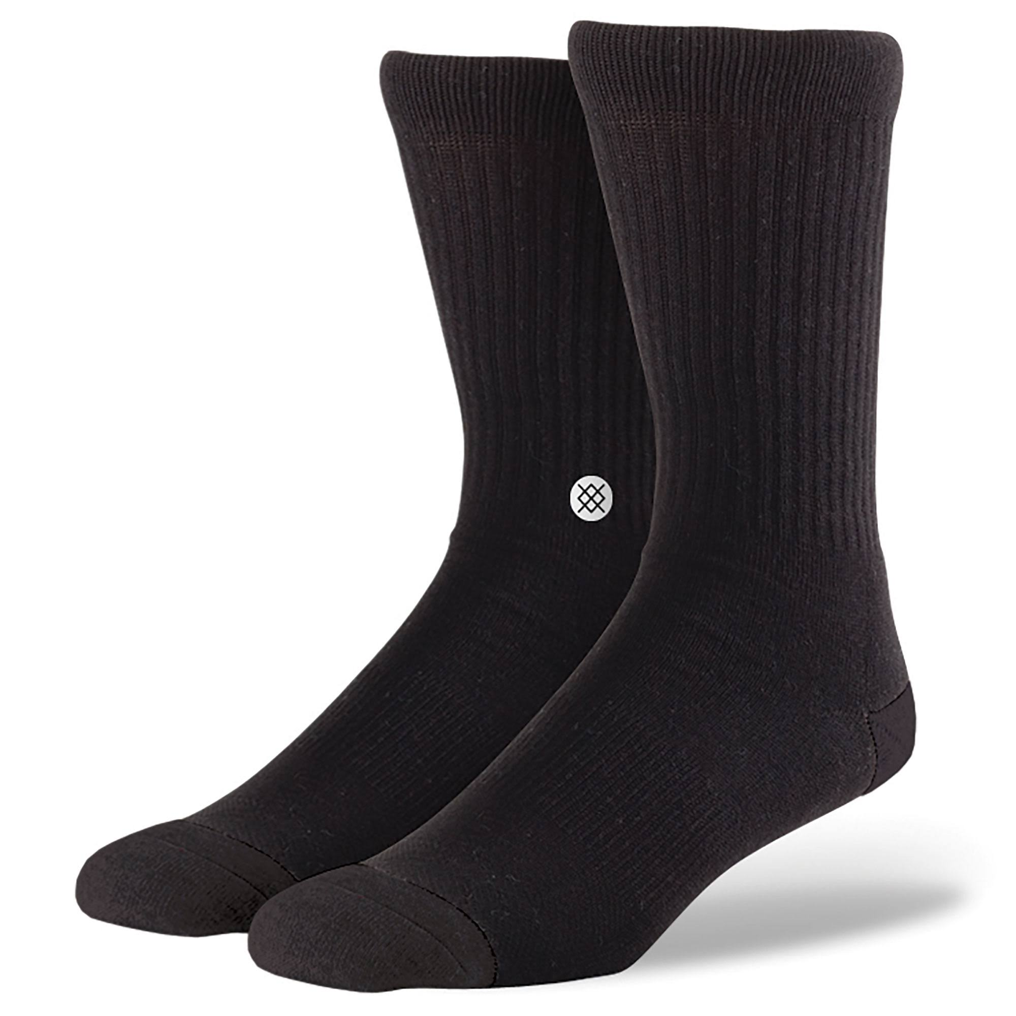 Stance Icon 3 Pack Socks - Black