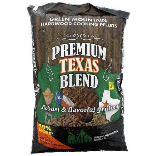 Green Mountain Premium Texas Blend Pellets