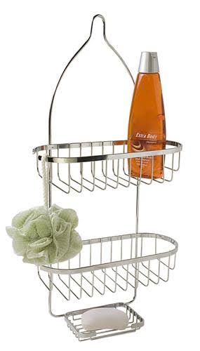 Home Basics Chrome Shower Caddy