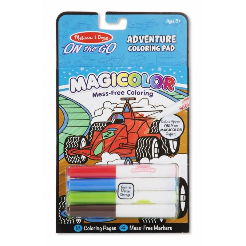 Melissa & Doug on The Go Magicolor Adventure Coloring Pad