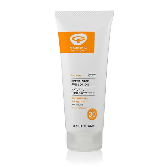 Green People Scent Free Sun Lotion - SPF 30, 200ml