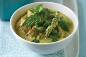 Thai Green Pumpkin Curry Recipe by Chicken Green Curry