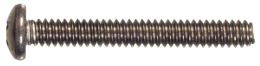 "The Hillman Group Phillips Pan-Head Machine Screw - 1/4""x1"""