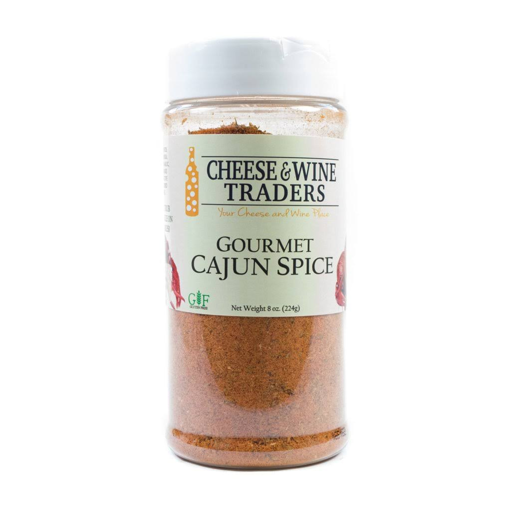 Cheese and Wine Traders Gourmet Cajun Spice, 8 oz