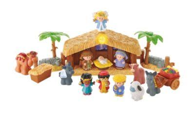 Fisher-Price Little People Deluxe Christmas Story Nativity Play Set
