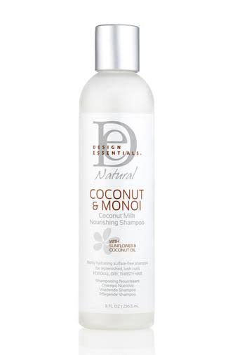 Design Essentials Natural Nourishing Shampoo - Coconut & Monoi, 8oz