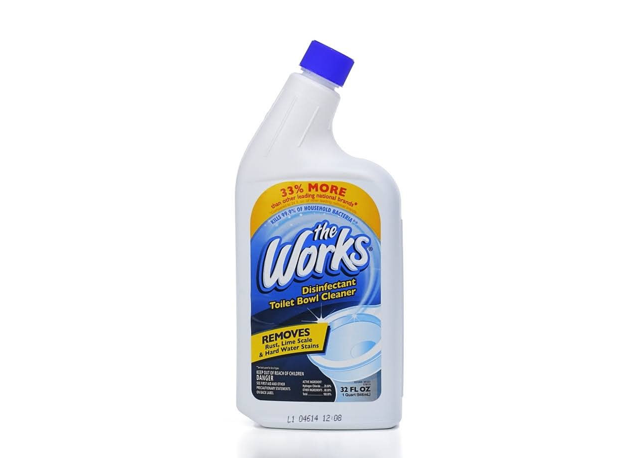 The Works Toilet Bowl Cleaner - 32oz