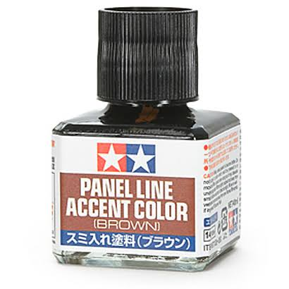 Tamiya Panel Line Accent Color - Brown, 40ml
