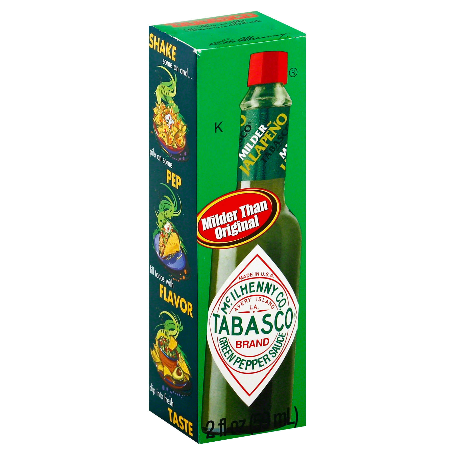 Tabasco Brand Green Jalapeno Pepper Sauce