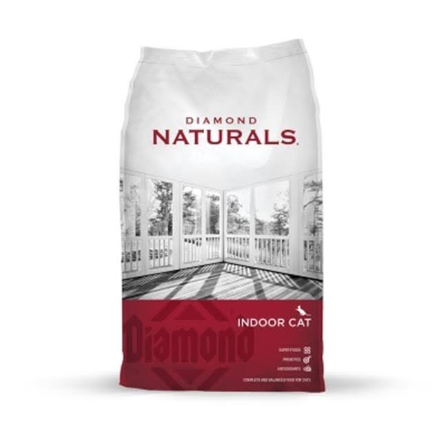 Diamond Naturals Dry Food for Adult Cats, Indoor Hairball Control Chicken Formula