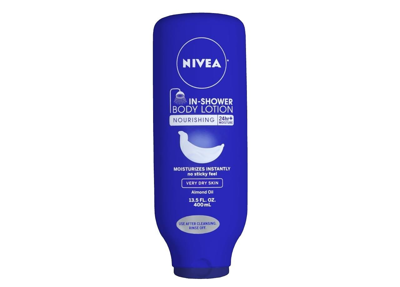 Nivea Nourishing Almond Oil In-Shower Body Lotion - 12.5 oz