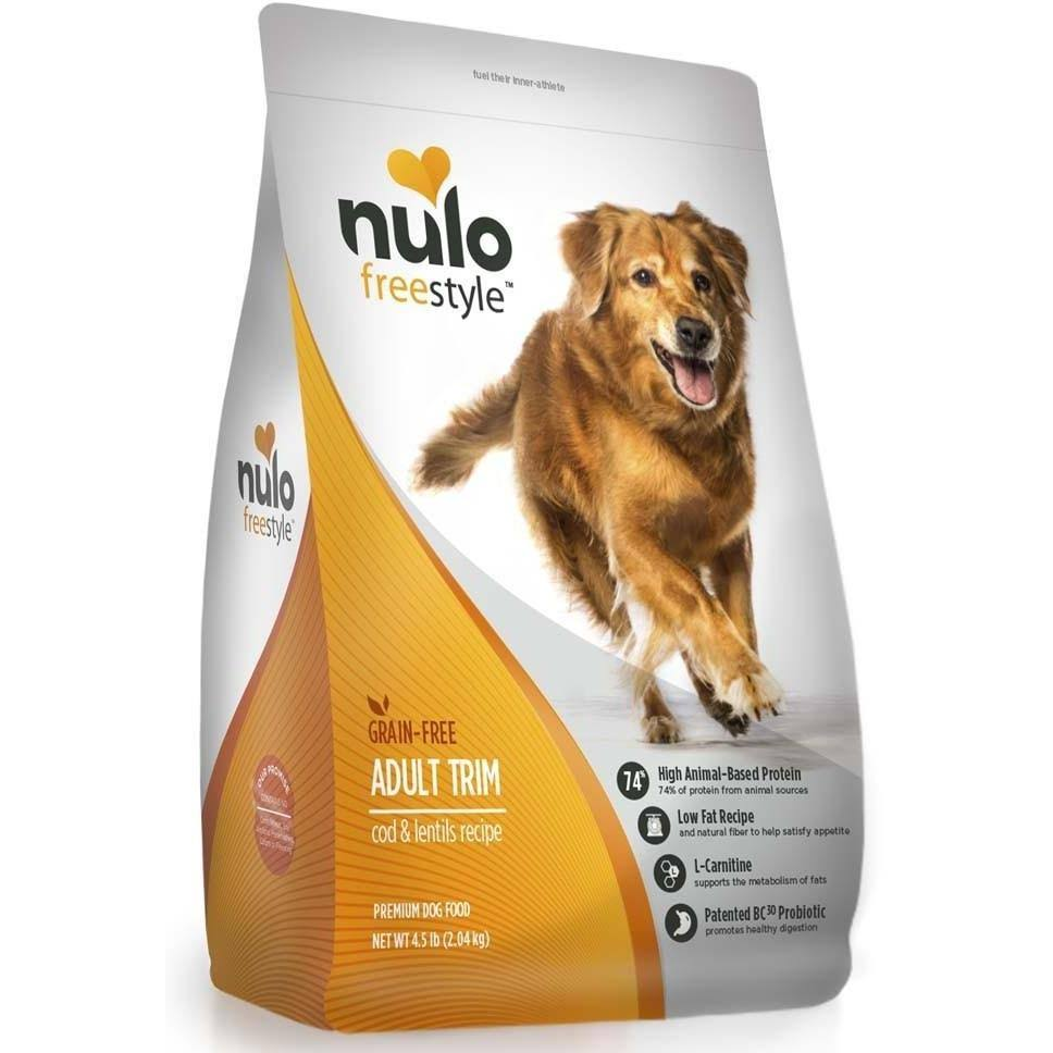 Nulo Freestyle Dog Grain Free Trim Weight Management Cod