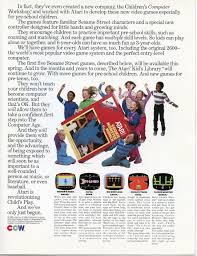 Sesame Street A Magical Halloween Adventure Credits by Atari 2600 Vcs Ads Atari Usa English Page 2