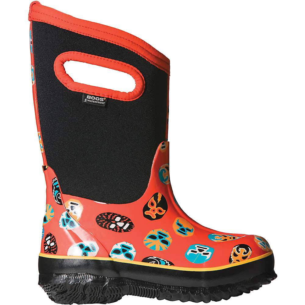 Bogs Outdoor Boots Boys Classic Mask 72156 Orange Multi