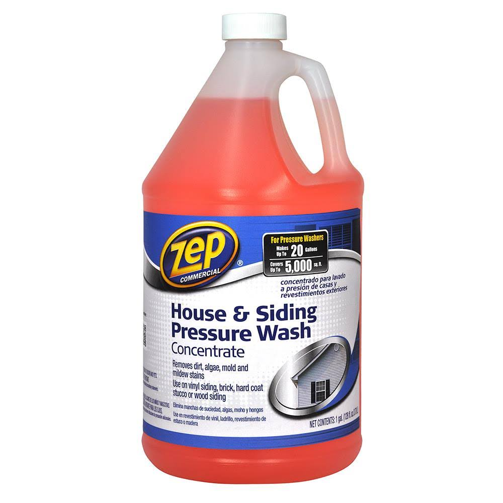 ZEP House and Siding Pressure Wash Concentrate Cleaner - 128oz