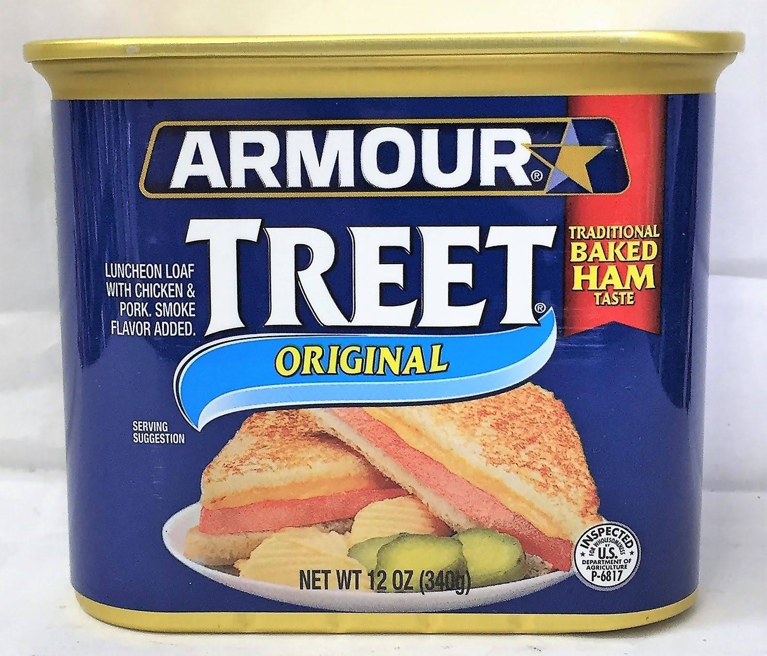 Armour Treet Original Luncheon Loaf - 12oz