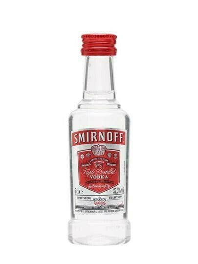 Smirnoff Red Label Vodka - 5cl