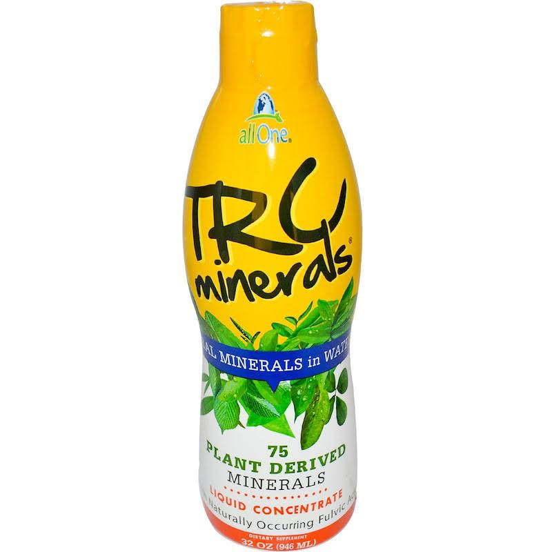 All One TRC Minerals Liquid Concentrate Dietary Supplement - 32oz