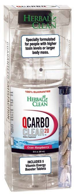 Bng Enterprises Clear Q Carbo Dietary Supplement - 20oz, Cran Raspberry