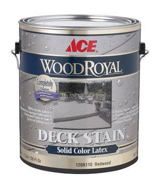 Ace Wood Royal Latex Solid Color Deck Stain
