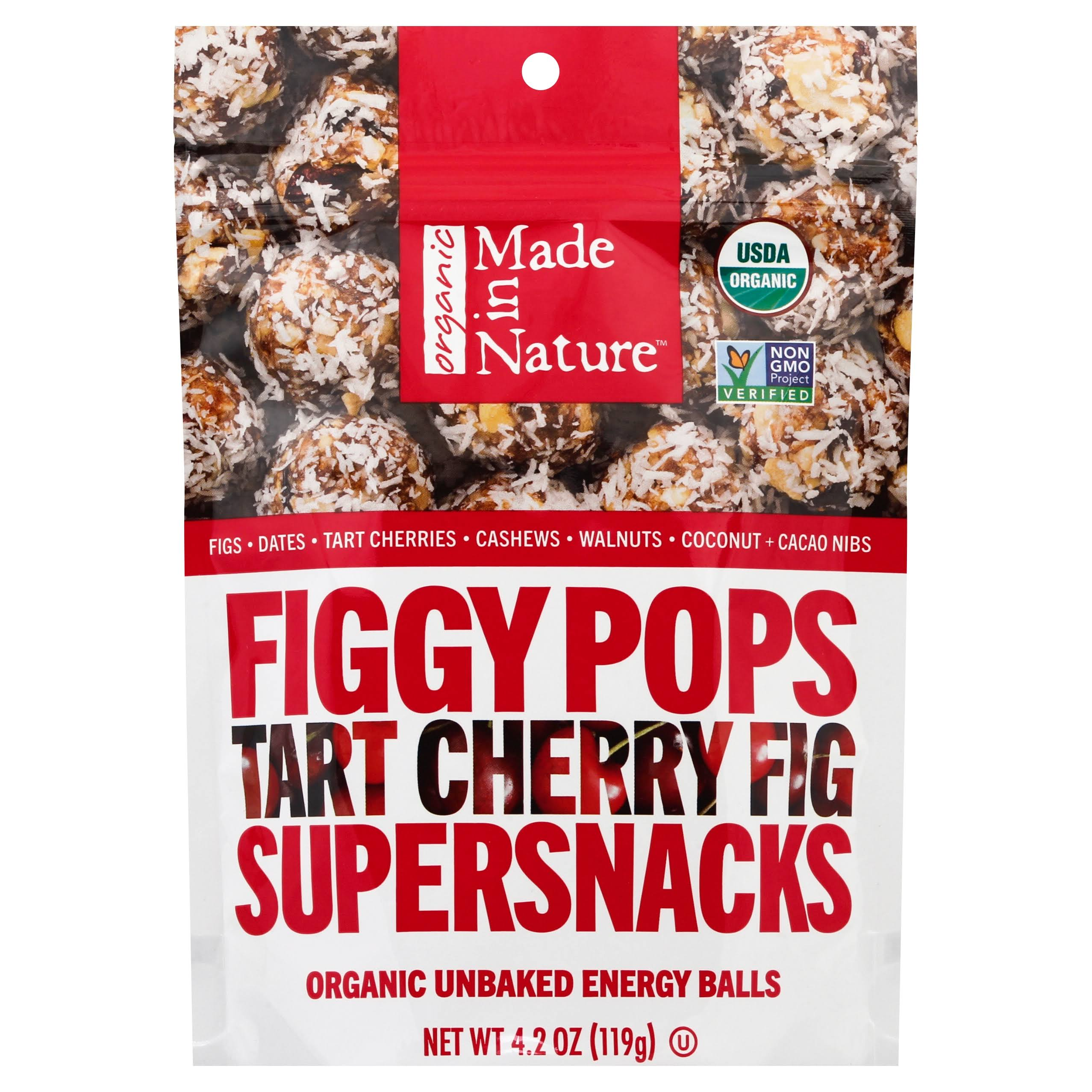 Made in Nature Figgy Pops Tart Cherry Fig Supersnacks
