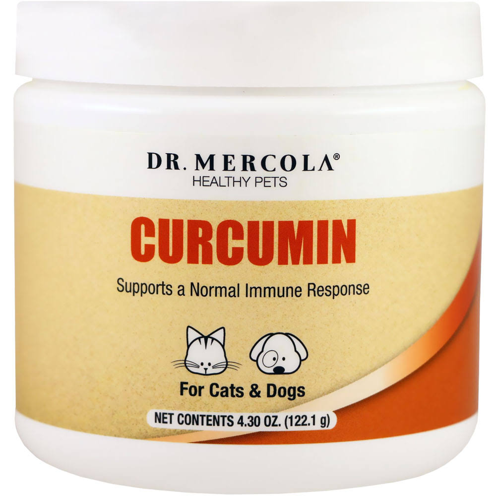 Dr. Mercola Healthy Pets Curcumin Supplement - 4.31oz
