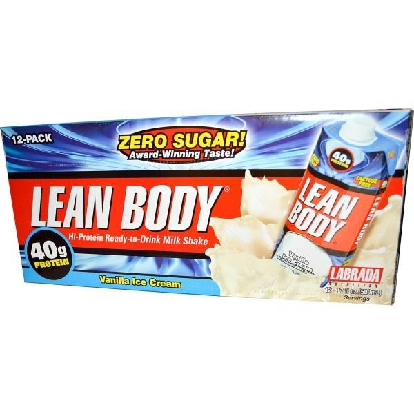 Labrada Nutrition Lean Body Ready To Drink - Vanilla, 17oz