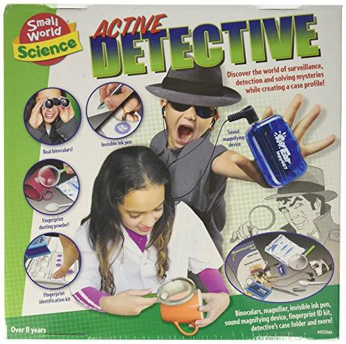 Small World Toys Active Detective Kit