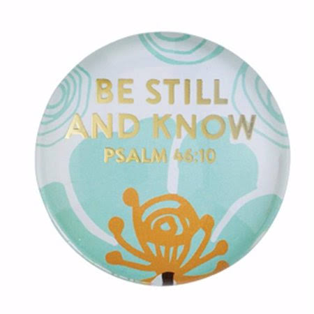 Heartfelt 146352 1.5 in. Magnet Christian Verse - Be Still Psalm 46-10
