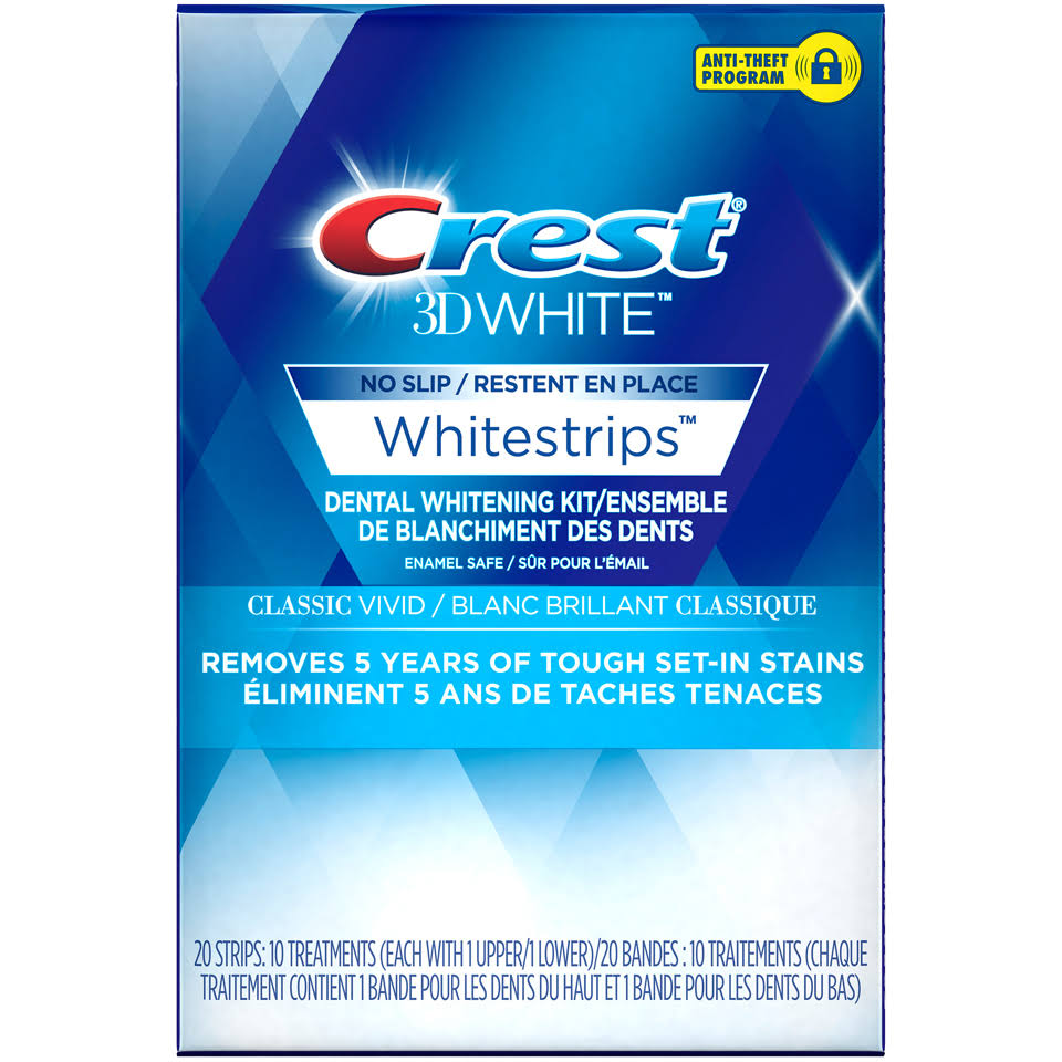 Crest3D White No Slip Whitestrips