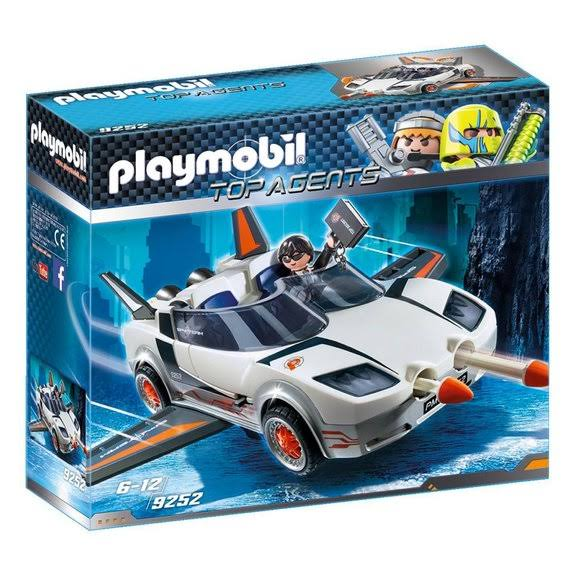 Playmobil 9252 Agent P. with Racer