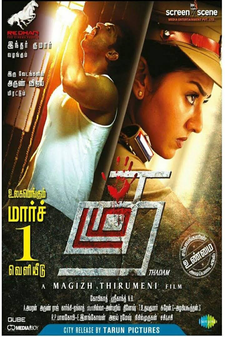 Thadam 2019 Hindi Dubbed 720p HDRip 400MB