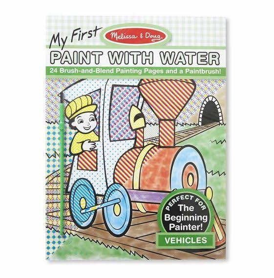Melissa and Doug My First Paint with Water Colouring Book