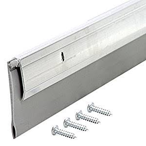 "MD Building Products Heavy Duty Aluminum and Vinyl Door Sweep - 2"" x 36"""