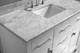 18 Inch Deep Bathroom Vanity Top by Virtu Usa Ms 2048 Wmsq Wh Caroline 48