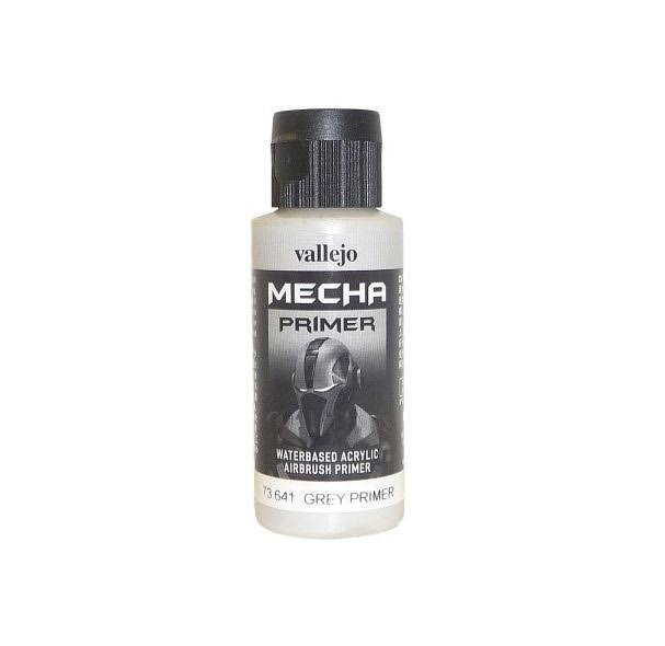 Vallejo Mecha Colour Surface Primer - Grey, 60ml