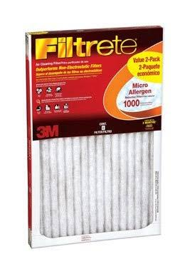 3M Filtrete Micro Allergen Defense Filter - 2 Pack
